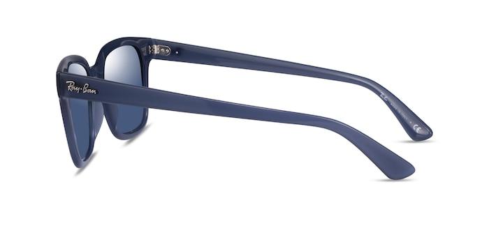 Ray-Ban RB4323 Transparent Dark Blue Plastic Sunglass Frames from EyeBuyDirect
