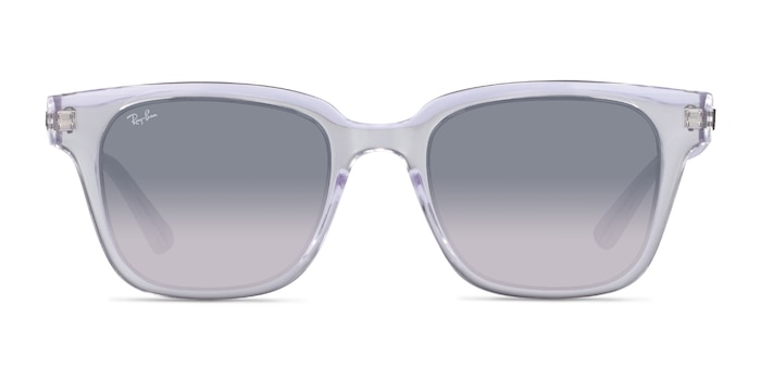Ray-Ban RB4323 Transparent Plastic Sunglass Frames from EyeBuyDirect