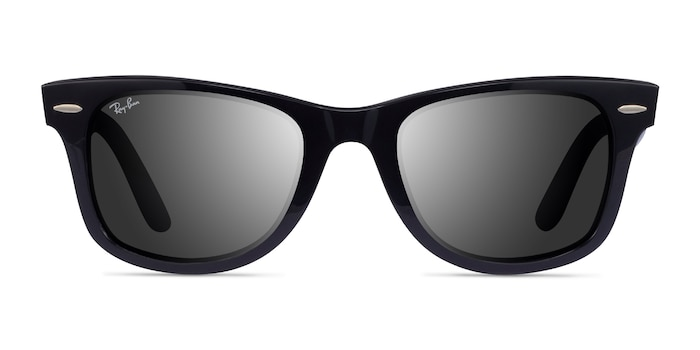 Ray-Ban RB2140 Black Acetate Sunglass Frames from EyeBuyDirect