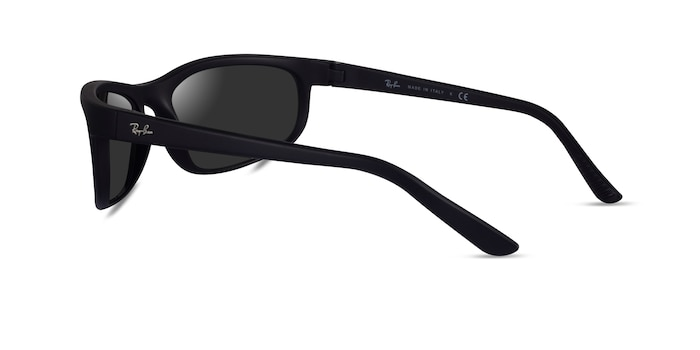 Ray-Ban RB2027 Black Plastic Sunglass Frames from EyeBuyDirect