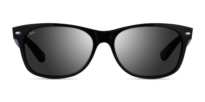 Ray-Ban RB2132 Black Plastic Sunglass Frames from EyeBuyDirect