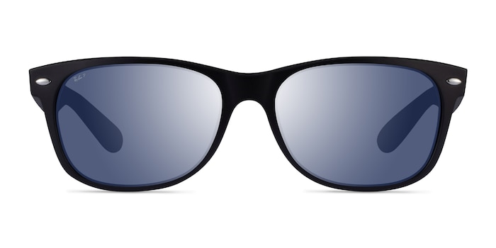 Ray-Ban RB2132 Matte Black Plastic Sunglass Frames from EyeBuyDirect
