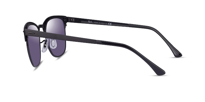 Ray-Ban RB3716 Matte Black On Black Acetate Sunglass Frames from EyeBuyDirect