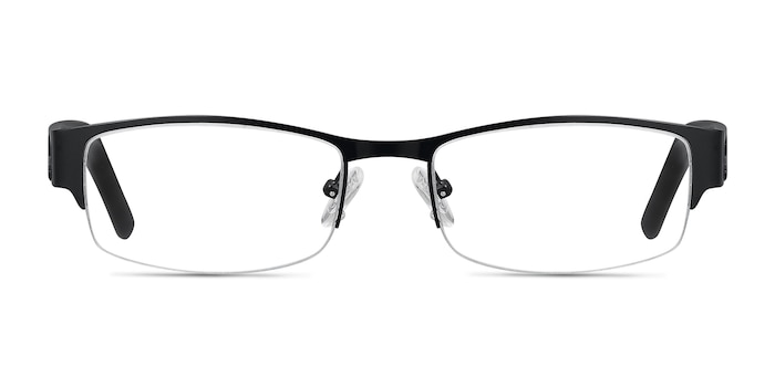 Chilliwack Black Metal Eyeglass Frames from EyeBuyDirect