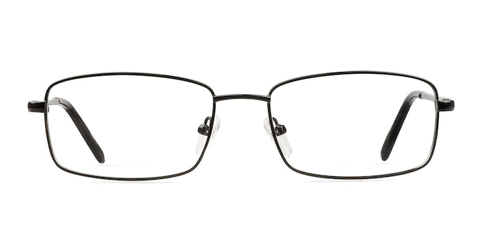 Braydon Black Metal Eyeglass Frames from EyeBuyDirect