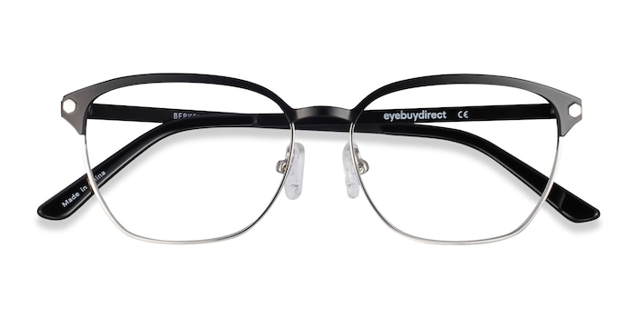 Black Berkeley -  Lightweight Metal Eyeglasses