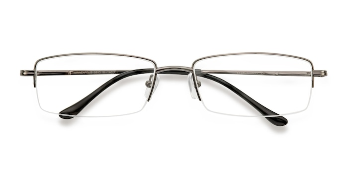 Gunmetal Minneapolis -  Metal Eyeglasses