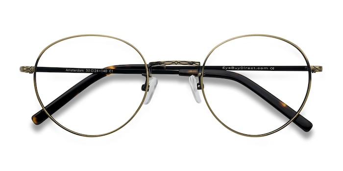 Bronze Amsterdam -  Lightweight Metal Eyeglasses