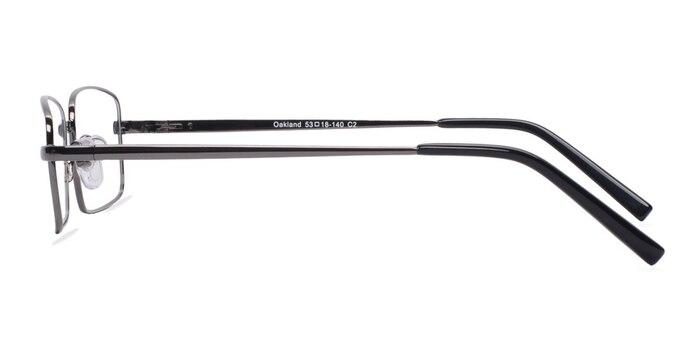 Oakland Gunmetal Metal Eyeglass Frames from EyeBuyDirect