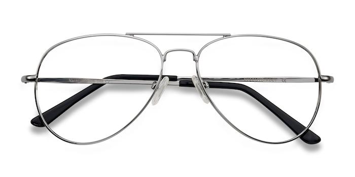 Silver Nantes -  Classic Metal Eyeglasses