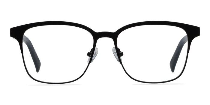 Intense Matte Black Acetate-metal Eyeglass Frames from EyeBuyDirect