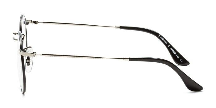 Daydream Black Silver Metal Eyeglass Frames from EyeBuyDirect