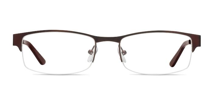 Mark Coffee Metal Eyeglass Frames from EyeBuyDirect