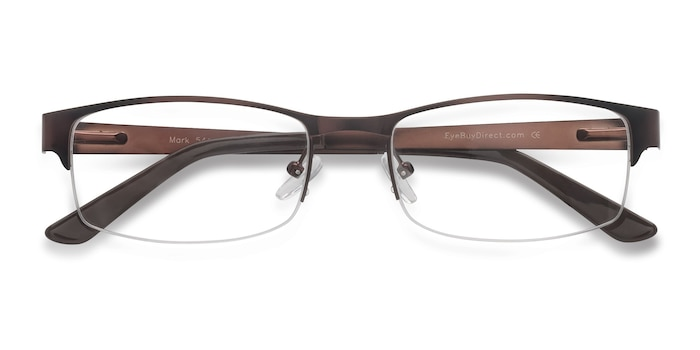 Coffee Mark -  Metal Eyeglasses