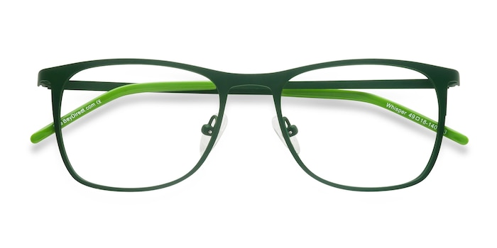 Matte Green Whisper -  Metal Eyeglasses