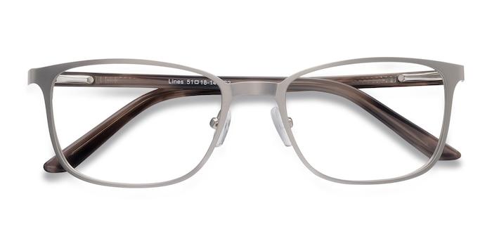 Silver Lines -  Classic Metal Eyeglasses