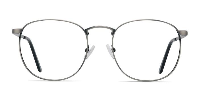 St Michel Gunmetal Métal Montures de lunettes de vue d'EyeBuyDirect