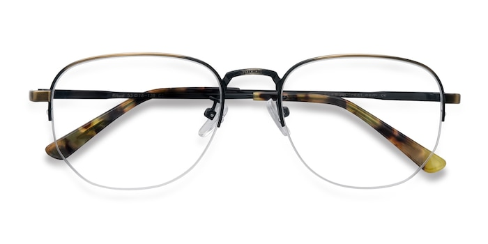 Bronze Ritual -  Vintage Metal Eyeglasses