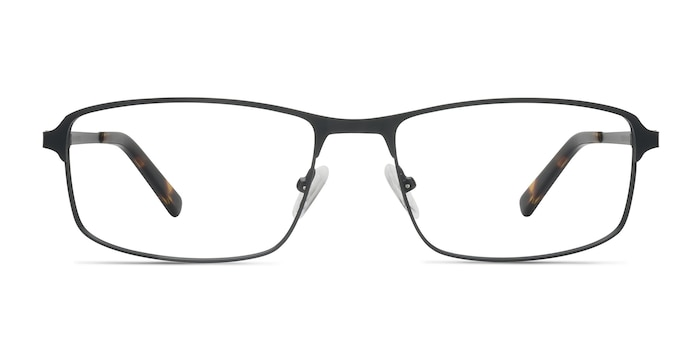 Capacious Black Metal Eyeglass Frames from EyeBuyDirect