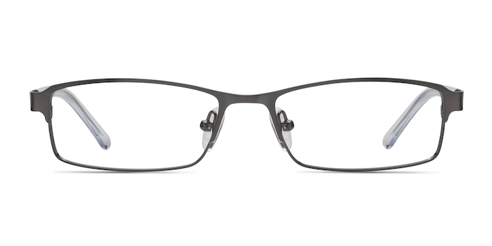 Olsen Gunmetal Metal Eyeglass Frames from EyeBuyDirect