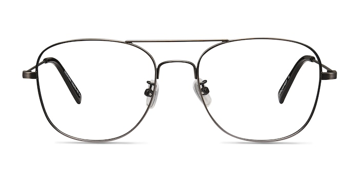 Courser Gunmetal Metal Eyeglass Frames from EyeBuyDirect