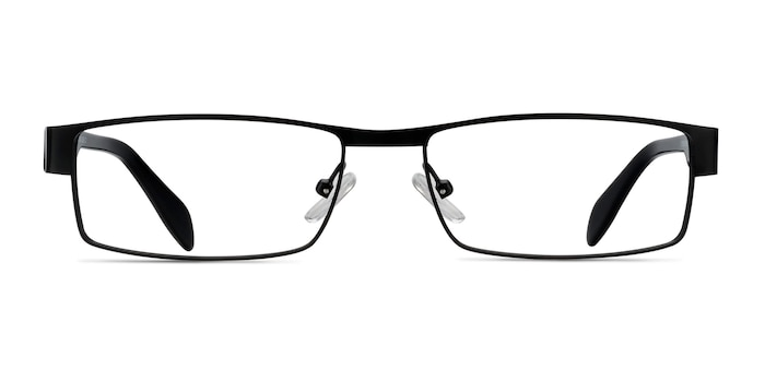 Katia Black Metal Eyeglass Frames from EyeBuyDirect