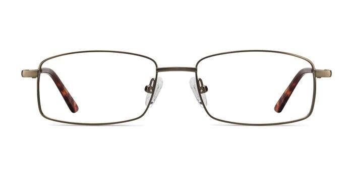 Tab Bronze Metal Eyeglass Frames from EyeBuyDirect