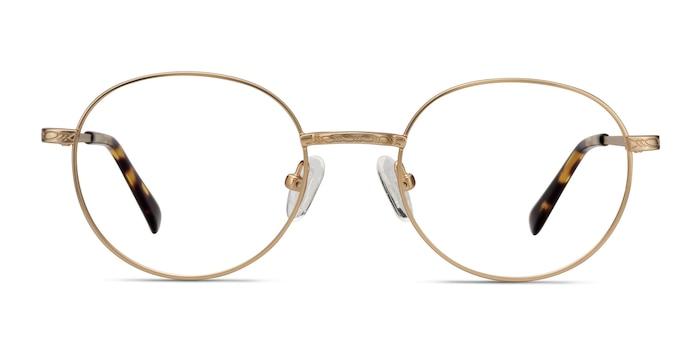 Ledger Golden Métal Montures de Lunette de vue d'EyeBuyDirect
