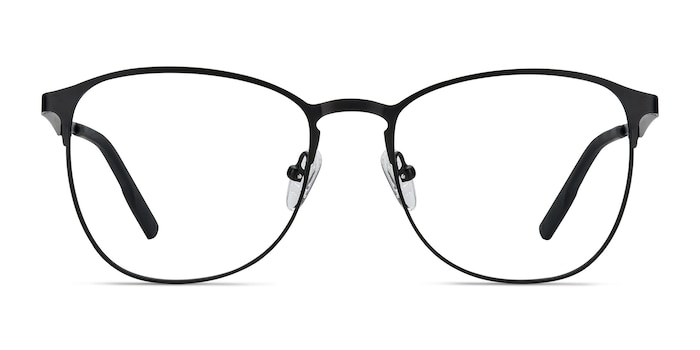Ember Matte Black Metal Eyeglass Frames from EyeBuyDirect