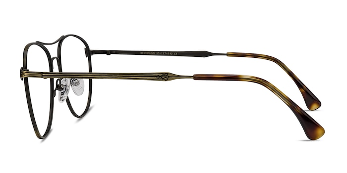 Westbound Bronze Metal Eyeglass Frames from EyeBuyDirect