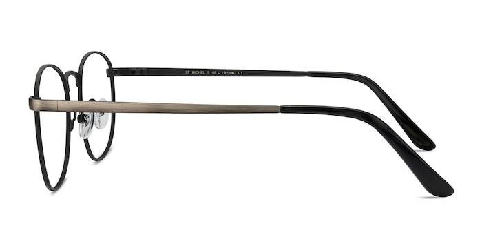 St Michel Gunmetal Metal Eyeglass Frames from EyeBuyDirect