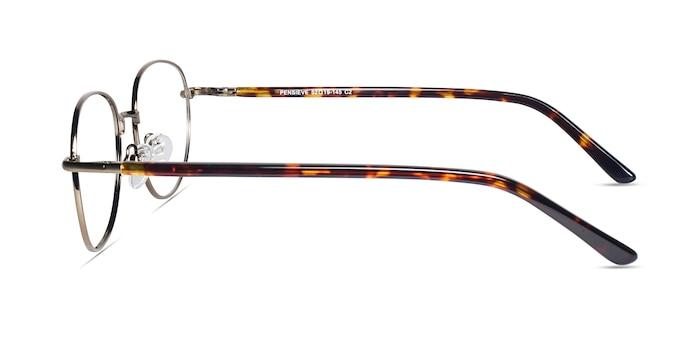 Pensieve Bronze Metal Eyeglass Frames from EyeBuyDirect