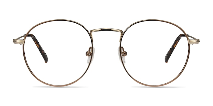 Wistful Coffee Metal Eyeglass Frames from EyeBuyDirect