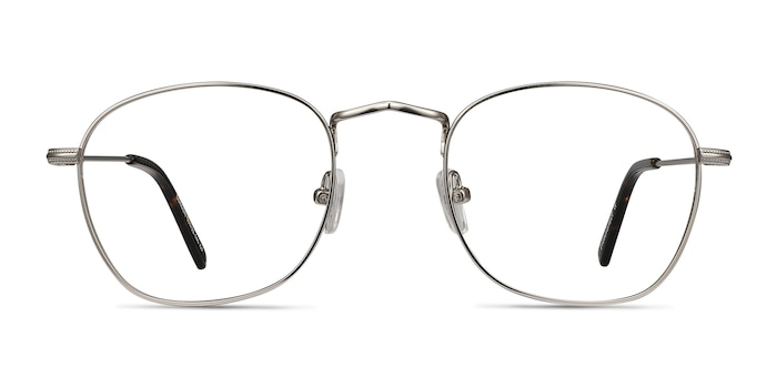 Sonder Silver Metal Eyeglass Frames from EyeBuyDirect
