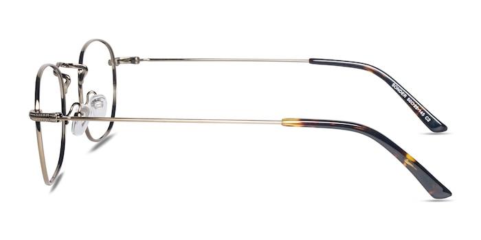 Sonder Bronze Metal Eyeglass Frames from EyeBuyDirect