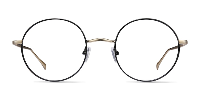 Synapse Black Metal Eyeglass Frames from EyeBuyDirect