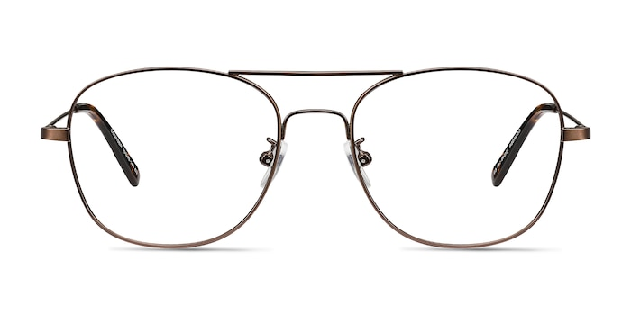 Courser Coffee Metal Eyeglass Frames from EyeBuyDirect