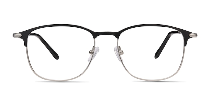 Cella Black Metal Eyeglass Frames from EyeBuyDirect