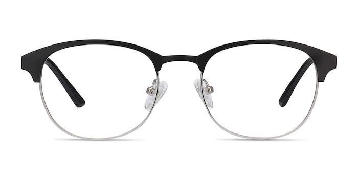 Toledo Noir Métal Montures de Lunette de vue d'EyeBuyDirect