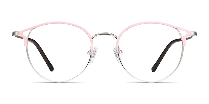 Jive Pink Metal Eyeglass Frames from EyeBuyDirect