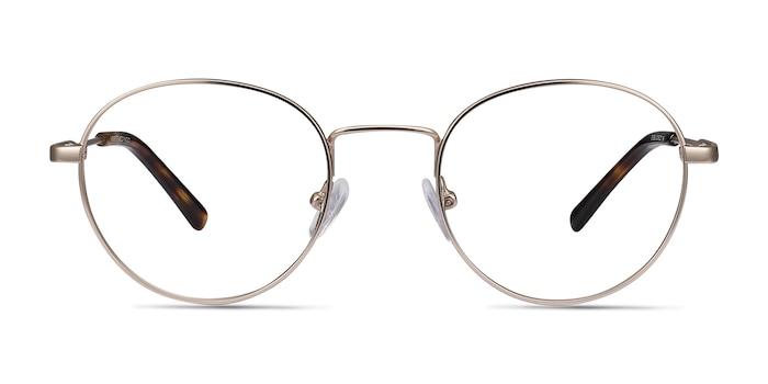Memento Golden Metal Eyeglass Frames from EyeBuyDirect