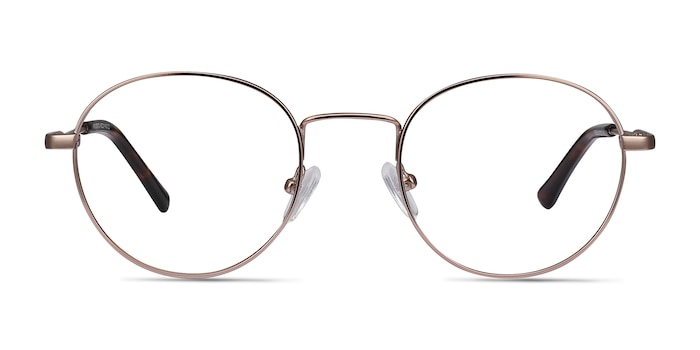 Memento Rose Gold Metal Eyeglass Frames from EyeBuyDirect