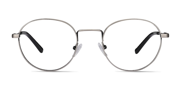 Memento Gunmetal Metal Eyeglass Frames from EyeBuyDirect