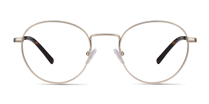 Memento Golden Metal Eyeglass Frames from EyeBuyDirect