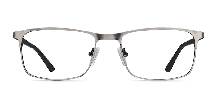 Wit Gunmetal Metal Eyeglass Frames from EyeBuyDirect
