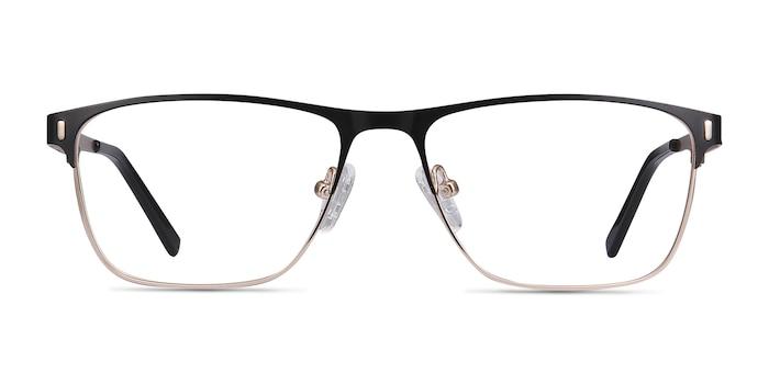 Media Black Metal Eyeglass Frames from EyeBuyDirect