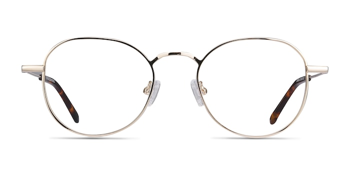 Cori Golden Metal Eyeglass Frames from EyeBuyDirect