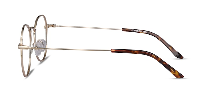 Cori Golden Metal Eyeglass Frames from EyeBuyDirect