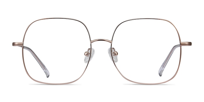 Movement Rose Gold Metal Eyeglass Frames from EyeBuyDirect