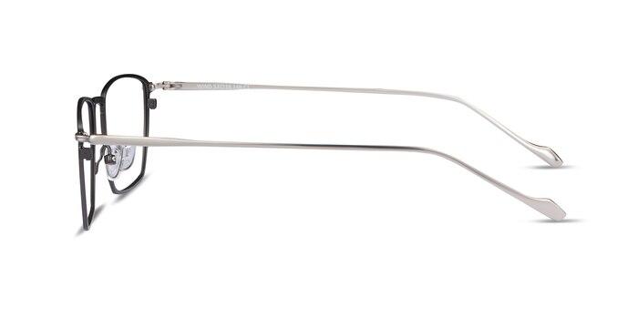 Wind Gunmetal Metal Eyeglass Frames from EyeBuyDirect
